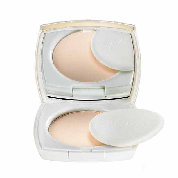 Avon Anew Age-Transforming Pressed Powder - Nude Beige - Nude Beige