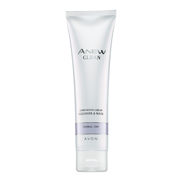Avon Anew Comforting Cream Cleanser & Mask