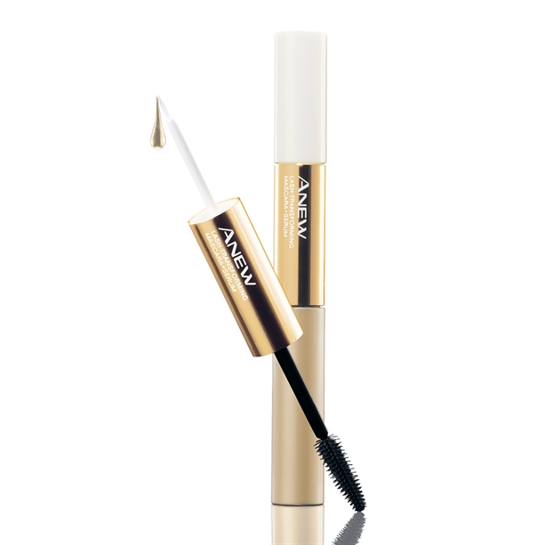 Avon Anew Lash Transforming 2-in-1 Mascara & Serum - Black - Black