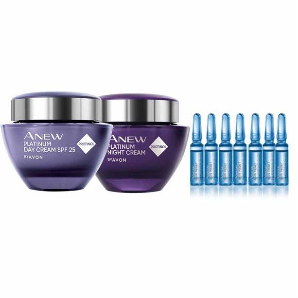 Avon Anew Platinum Skin Reset Bundle