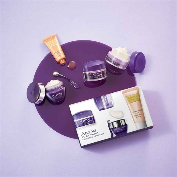 Avon Anew Platinum Skincare Trial Kit