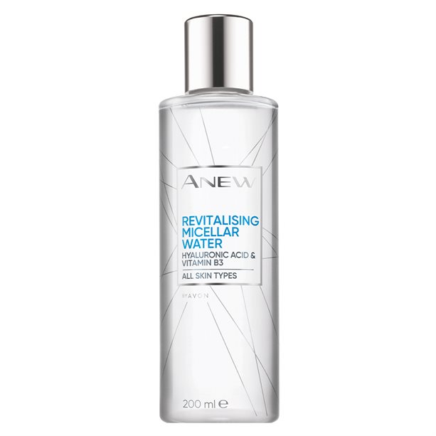 Avon Anew Revitalising Micellar Water with Hyaluronic Acid - 200ml