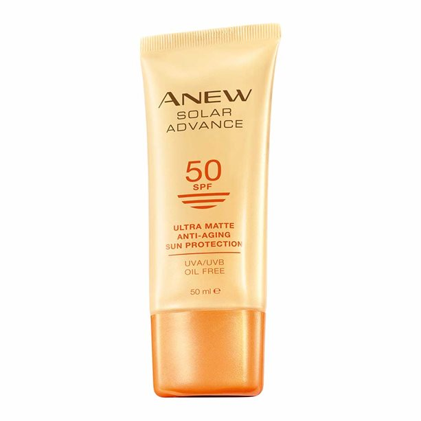 Avon Anew Solar Advance Ultra Matte SPF50 Sun Cream - 50ml