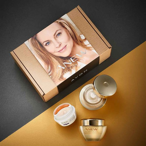 Avon Anew Ultimate Day, Night and Eye Cream Skincare Set