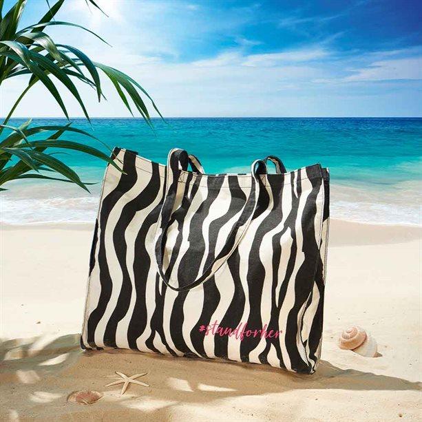 Avon Animal Print Tote Bag