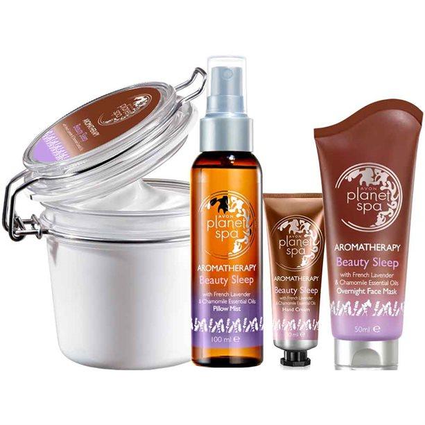 Avon Aromatherapy Lavender & Chamomile Beauty Sleep Pamper Set
