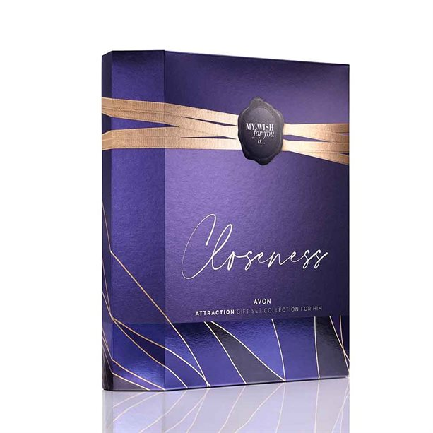 Avon Attraction for Him Aftershave Gift Set