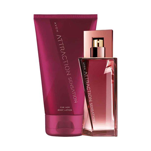 Avon Attraction Sensation for Her Perfume Set