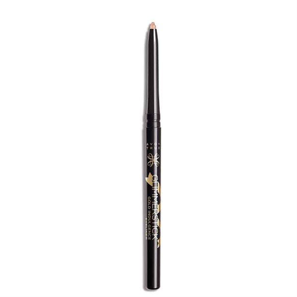 Avon True Glimmerstick Gold Indulgence Eyeliner - White Gold