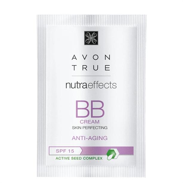 Avon True Nutra Effects Anti-Ageing BB Cream Sample - Light