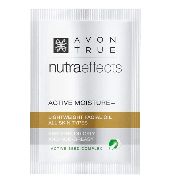 Avon True Nutra Effects Miracle Glow Lightweight Facial Oil Sample