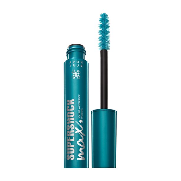 Avon True SuperShock Volume Waterproof Mascara - Black - Black