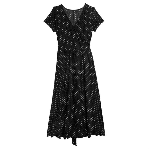 Avon Belted Wrap Dress - Size 8