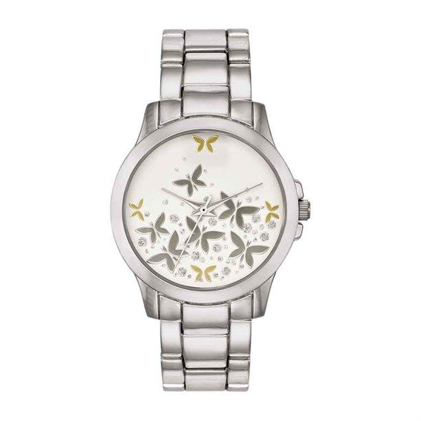 Avon Butterfly Bracelet Watch - 2 Year Warranty - Rose-tone