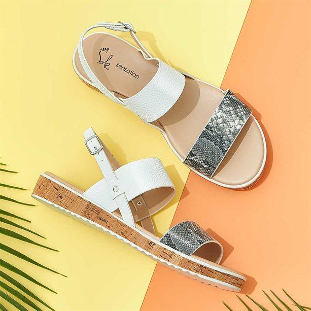 Avon Cama Double Strap Sandals - Size 4