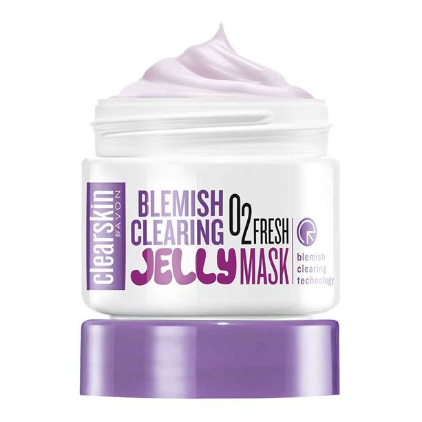 Avon Clearskin Blemish Clearing Jelly Face Mask - 100ml
