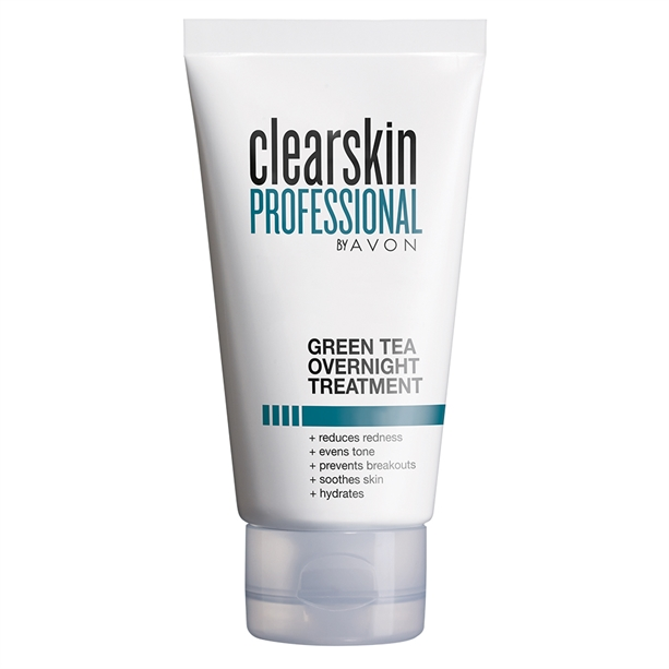 Avon Clearskin Green Tea Overnight Cream - 50ml