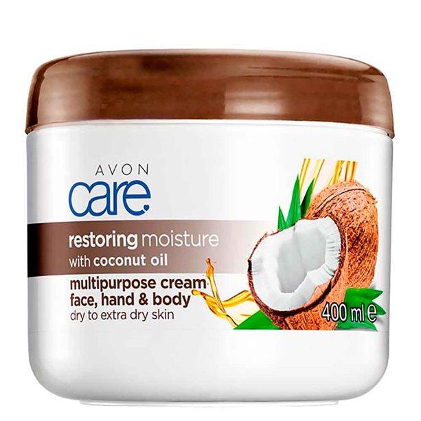 Avon Coconut Oil Multipurpose Cream - 400ml
