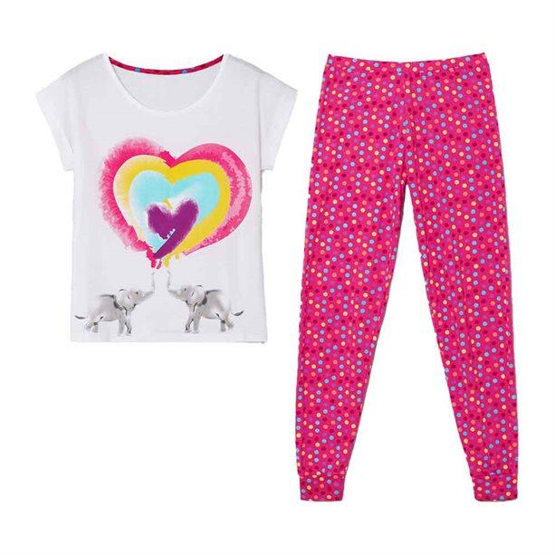 Avon Elephant Heart PJ Set - Small 8-10