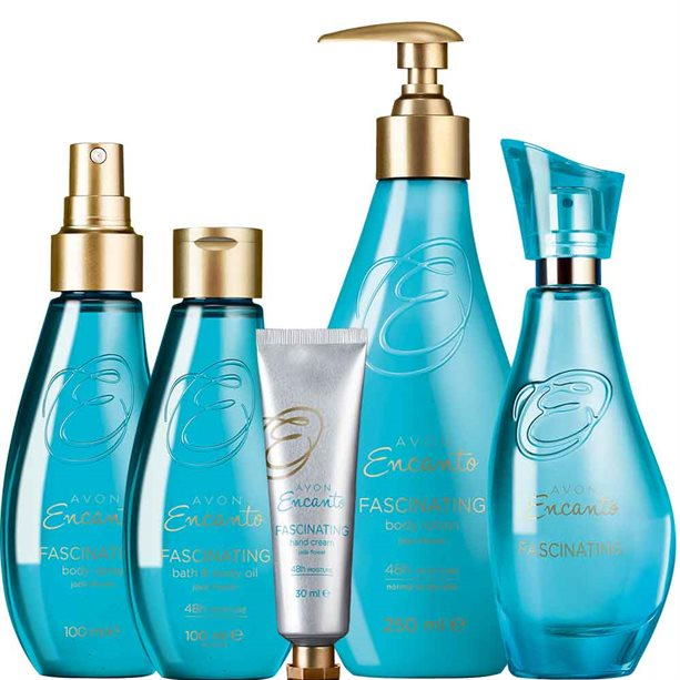 Avon Encanto Fascinating Bath & Body Gift Set
