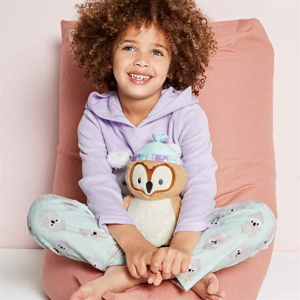 Avon Fleecy Owl Bottoms - Ages 5-6