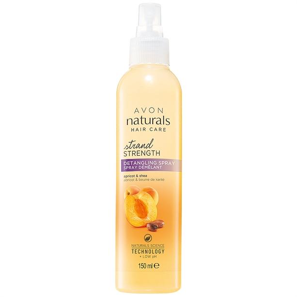 Avon Golden Apricot & Shea Detangler Spray - 150ml