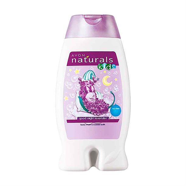 Avon Good Night Lavender Body Wash & Bubble Bath - 250ml
