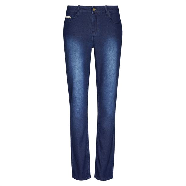 Avon Jeanetic Slim Fit Jeans Blue (Short Leg) - 20