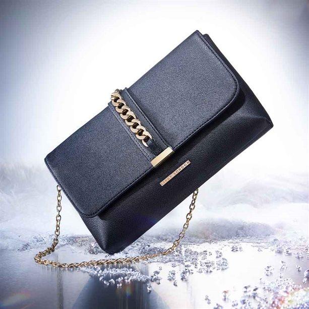 Avon Lipsy Mesh Detail Clutch Bag