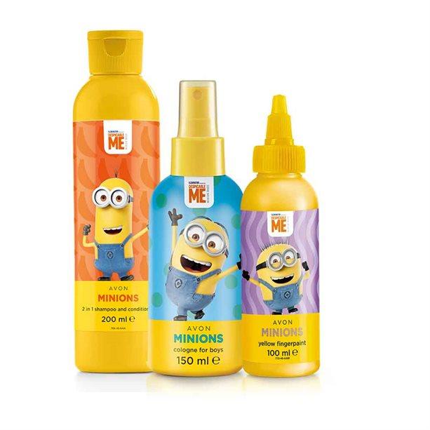 Avon Minions Orange Bathtime Gift Set