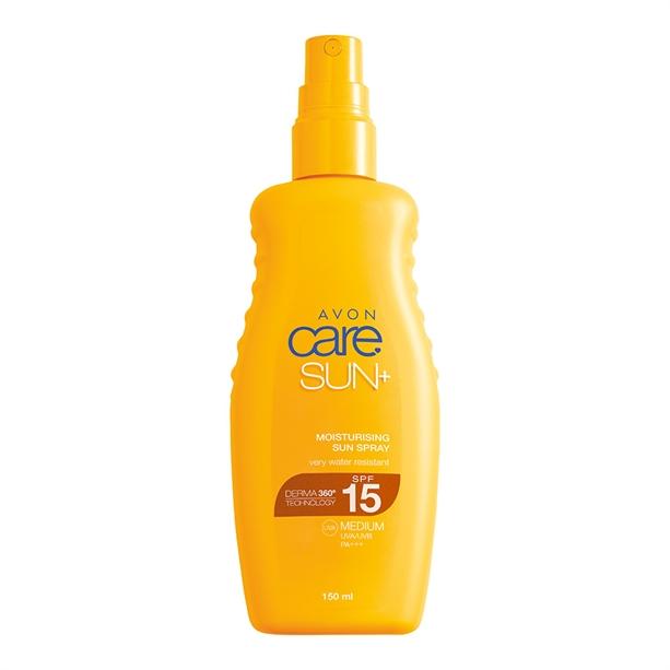 Avon Moisturising Sun Cream Spray SPF15 - 150ml