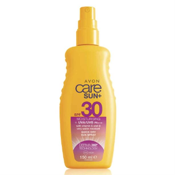 Avon Moisturising Sun Cream Spray SPF30 - 150ml