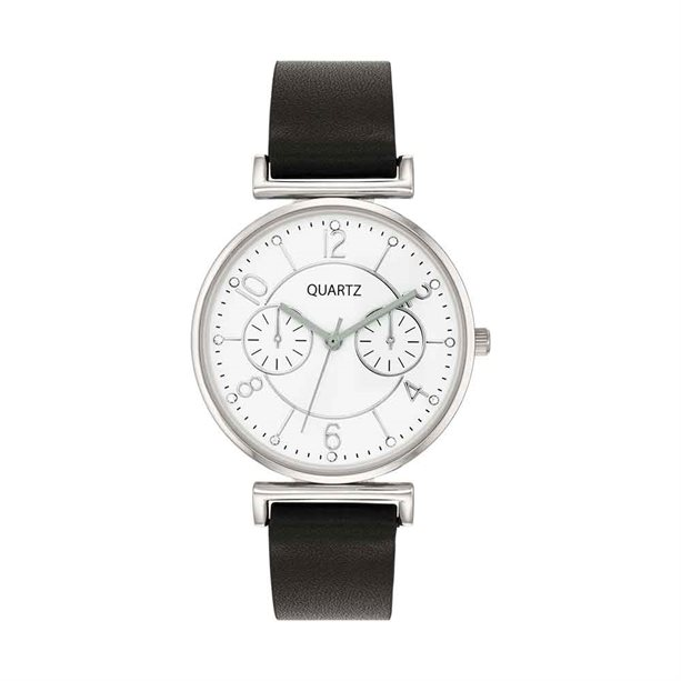 Avon Nicara Leather Strap Watch - 2 Year Warranty