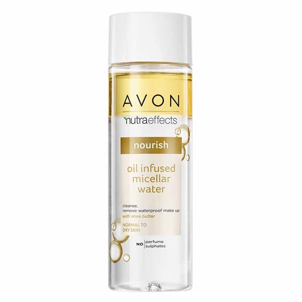 Avon Nutra Effects Nourish Oil-Infused Micellar Water - 200ml
