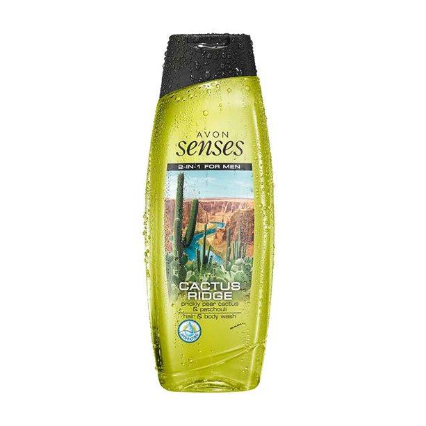 Avon Pear & Patchouli Hair & Body Wash - 500ml