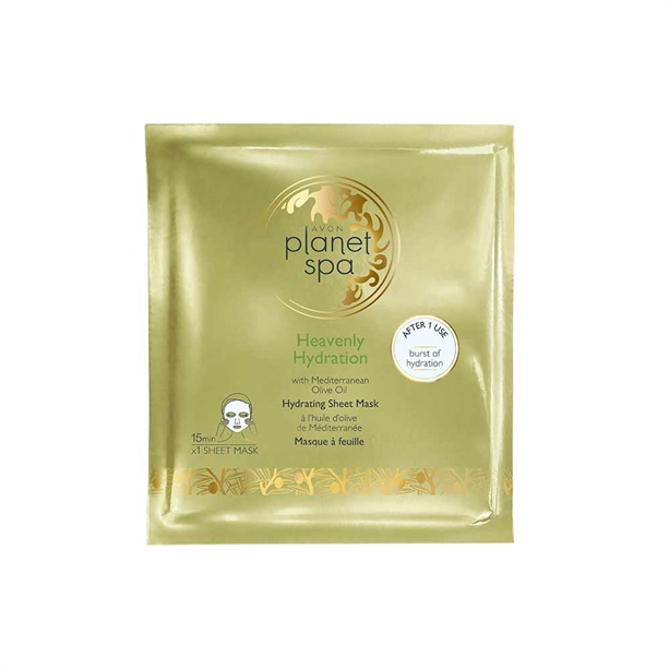 Avon Planet Spa Heavenly Hydration Sheet Mask
