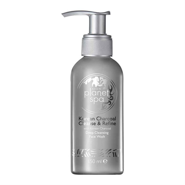 Avon Planet Spa Korean Charcoal Deep Cleansing Face Wash - 150ml