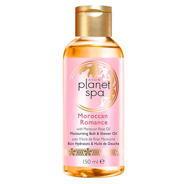 Avon Planet Spa Moroccan Romance Bath & Shower Oil - 150ml