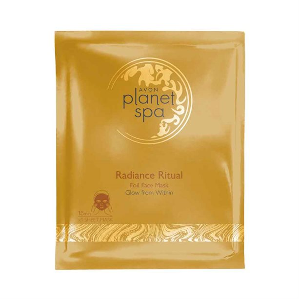 Avon Planet Spa Radiance Ritual Foil Face Mask