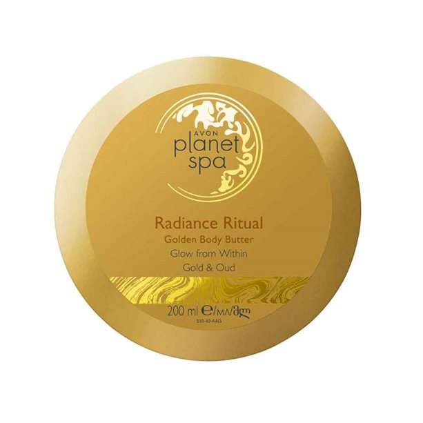 Avon Planet Spa Radiance Ritual Golden Body Butter - 200ml