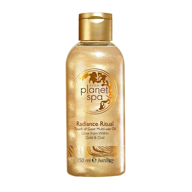 Avon Planet Spa Radiance Ritual Touch Of Gold Body Oil - 150ml