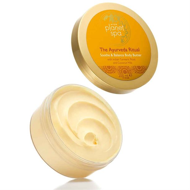 Avon Planet Spa The Ayurveda Ritual Soothe & Balance Body Butter - 200ml