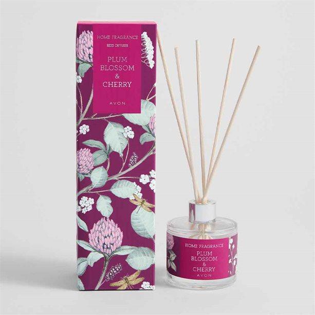 Avon Plum Blossom & Cherry Reed Diffuser - 50ml