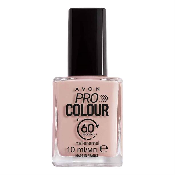 Avon Pro Colour In 60 Seconds Nail Enamel - Chop Chop Cream