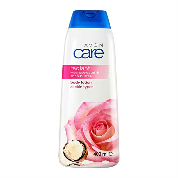 Avon Radiant Rosewater & Shea Butter Body Lotion - 400ml