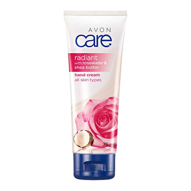 Avon Radiant Rosewater & Shea Butter Hand Cream - 75ml