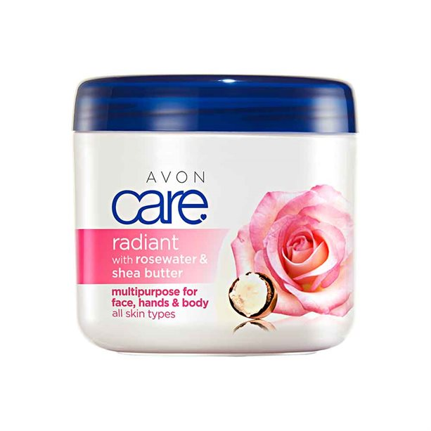 Avon Radiant Rosewater & Shea Butter Multipurpose Cream - 400ml