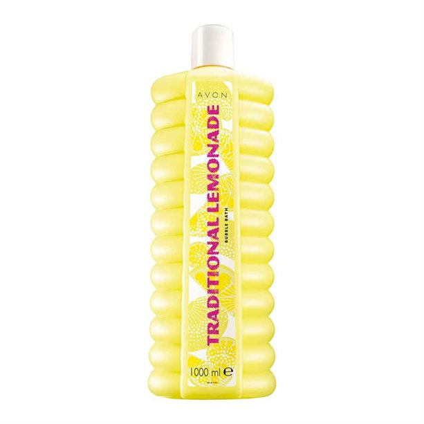 Avon Traditional Lemonade Bubble Bath - 1 litre