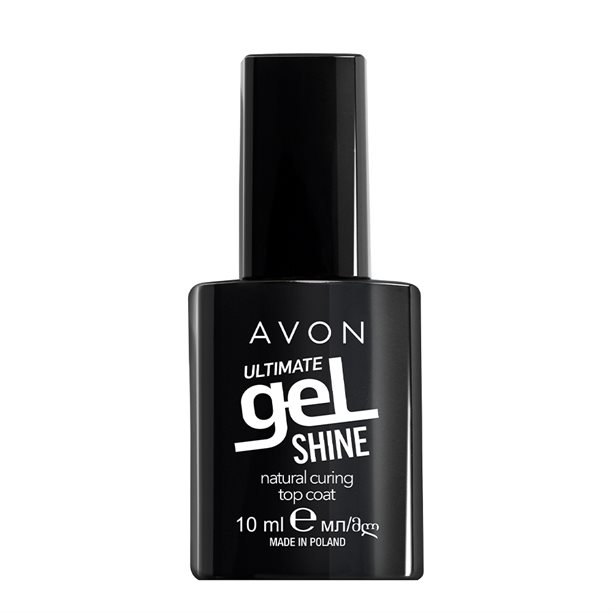 Avon Ultimate Gel Shine Natural Curing Top Coat