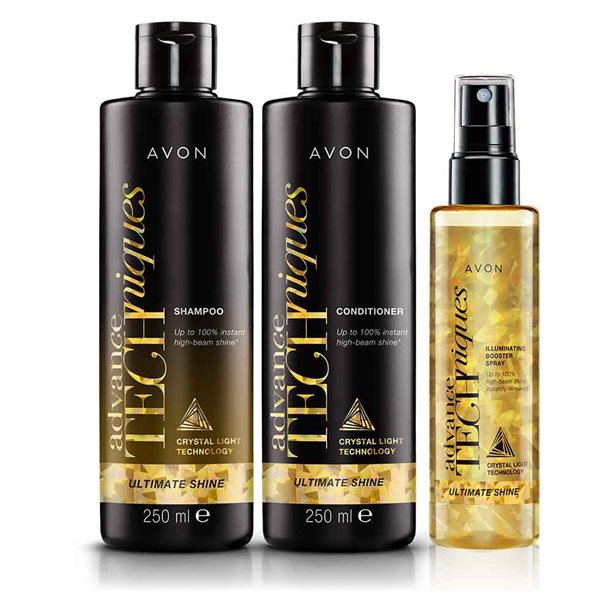 Avon Ultimate Shine Haircare Set